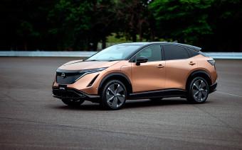 Nissan представил электрокроссовер для России. 9 карточек