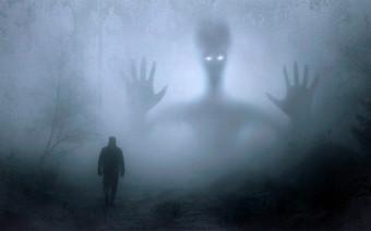 Датчики Tesla обнаружили невидимого человека на кладбище. Видео