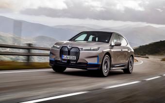 У BMW появился электрический кроссовер iX. Что о нем известно