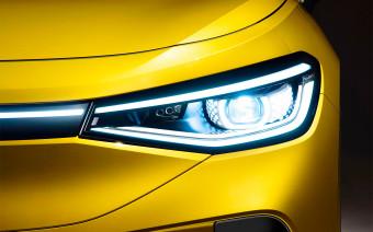 Volkswagen заменит хромированный декор электрокаров светодиодами