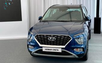 Hyundai представила новую Creta для России