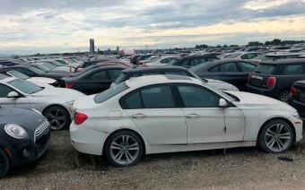 Под Ванкувером нашли автокладбище с тысячами BMW. Видео