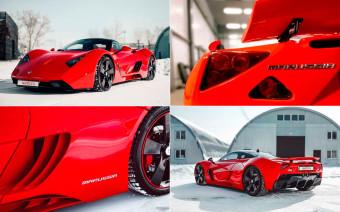 Российский спорткар Marussia выставили на продажу за 16,5 млн рублей