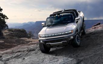 GMC представил электрический пикап Hummer