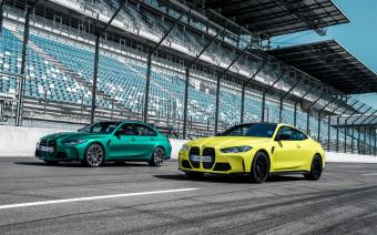 BMW представила новые M3 и M4