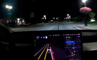 Автопилот Tesla научился определять полицейские автомобили