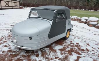 Советскую трехколесную машину 1957 года выставили на продажу за ₽5,7 млн