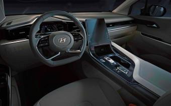 Hyundai показал интерьер нового минивэна в стиле кроссовера Tucson