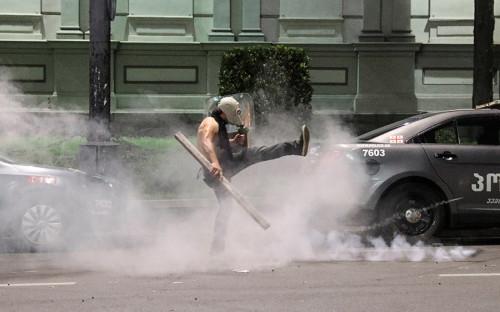 Власти Грузии обвинили члена созданной Саакашвили партии в беспорядках