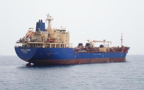 Танкер MT Curacao Trader