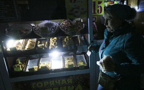 Торговые киоски в одном из подземных переходов в селе Строгановка Симферопольского района