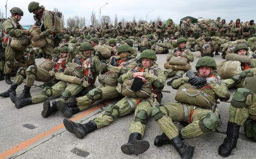 Проверка состава военно-транспортной авиации ВКС России в Таганроге