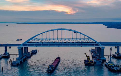 Фото: Инфоцентр «Крымский мост» / РИА Новости