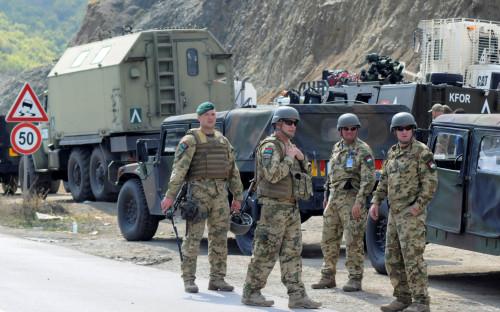 Контингент миротворческой миссии KFOR в Косово