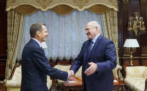 Сергей Нарышкин и Александр Лукашенко