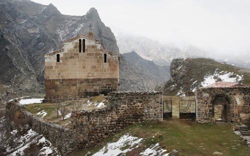 Монастырь Агаоглан в Лачинском районе