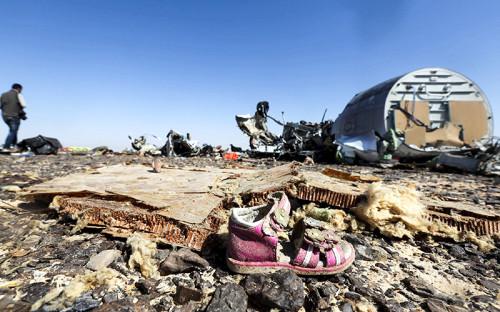 Место крушения российского самолета Airbus A321в Египте<br /> <br /> &nbsp;