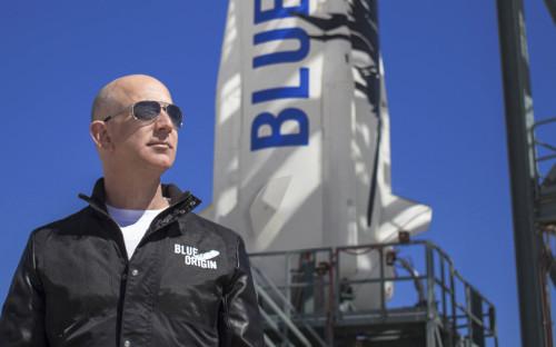 Основатель Amazon и Blue Origin Джефф Безос
