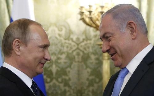 <p>Владимир Путин и&nbsp;Биньямин Нетаньяху</p>  <p></p>