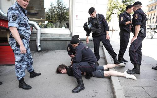 Общественники сообщили о посещении задержанных на акции в Москве