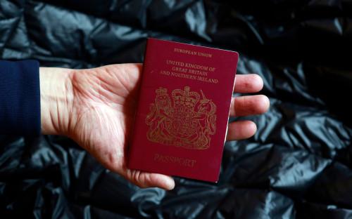 Паспорт подданного Великобритании