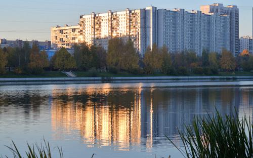 В парке 850-летия Москвы в Юго-Восточном административном округе на территории района Марьино