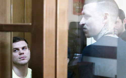 Александр Кокорин и Павел Мамаев (слева направо)