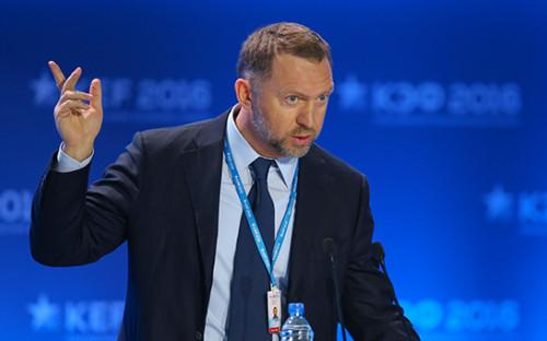 <p>Бизнесмен Олег Дерипаска</p>  <p></p>