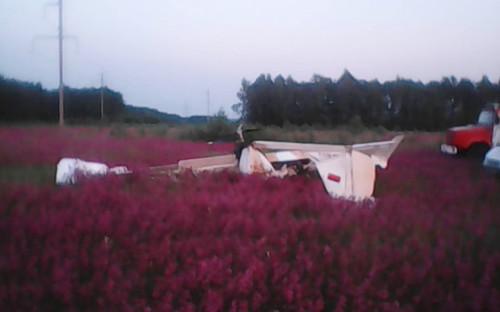 Падение легкомоторного самолета в Шиловском районе