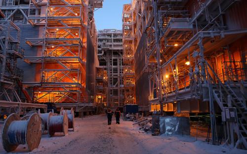 Завод по производству сжиженного природного газа