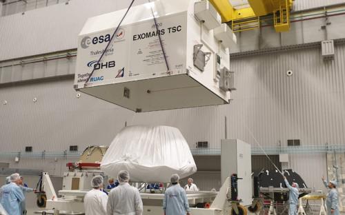 <p>Посадочная платформа миссии &laquo;ЭкзоМарс-2020&raquo;</p>