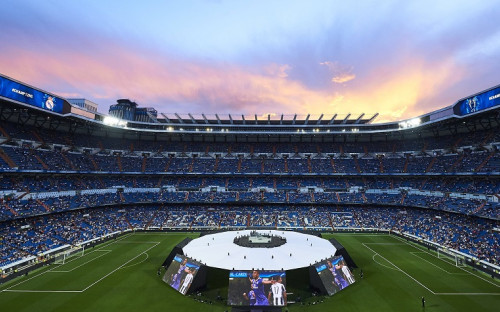 Мадридский стадион «Сантьяго Бернабеу»