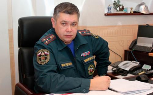 Руководитель Главного управления МЧС по Кемеровской области Александр Мамонтов