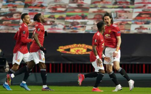 """Фото:Футболисты """"Манчестер Юнайтед"""" (Фото: AP)"""