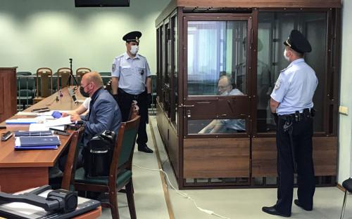 <p>Судебное заседание по уголовному делу в отношении Олега Соколова</p>