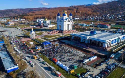 Виды Южно-Сахалинска