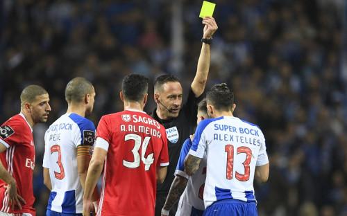 Матч «Порту» и «Бенфики» в чемпионате Португалии