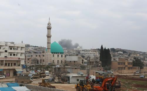Обстрел Идлиба сирийской оппозицией