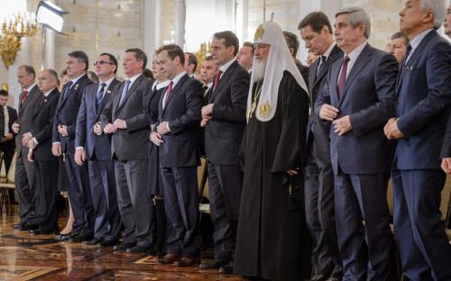 <p>Перед ежегодным посланием президента России&nbsp;Федеральному собранию. Декабрь 2015 года</p>  <p></p>