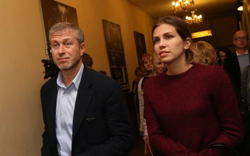 <p>Роман Абрамович и Дарья Жукова</p>  <p></p>