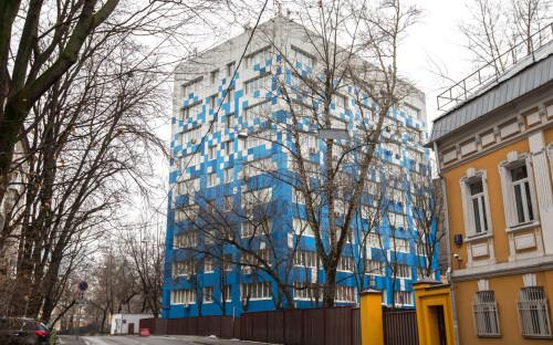 <p>Здание федерального агентства связи</p>