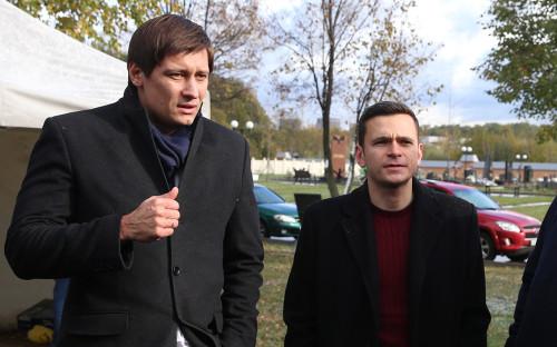 Дмитрий Гудков (слева) и Илья Яшин