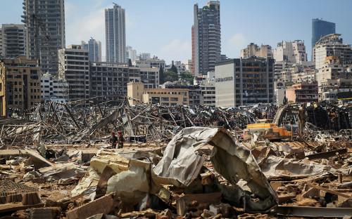 Последствия взрыва в Бейруте, Ливан
