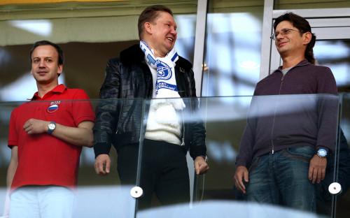 Фото:Фото: Алексей Миллер и Леонид Федун Фото: ТАСС