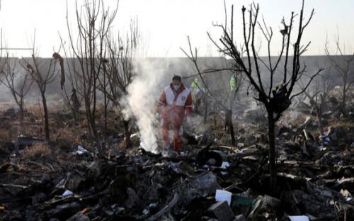Accidente de Boeing ucraniano