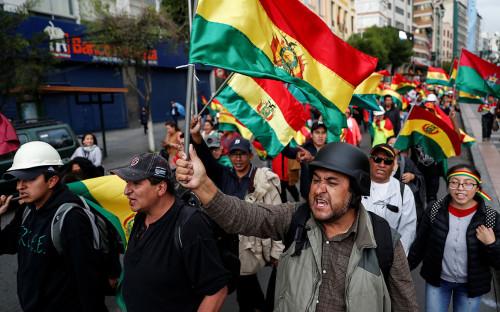 Вторая вице-спикер сената Боливии взяла на себя обязанности президента