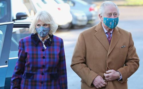 Герцогиня Корнуолльская Камилла Паркер Боулз и&nbsp;принц Чарльз Уэльский<br /> &nbsp;