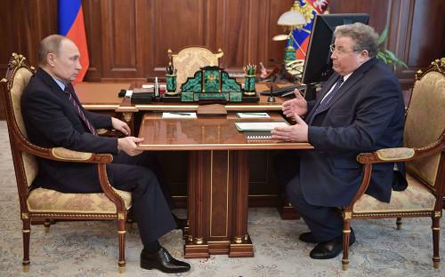 Владимир Путин и Владимир Волков