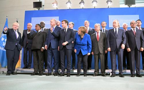 Участники берлинской конференции по Ливии
