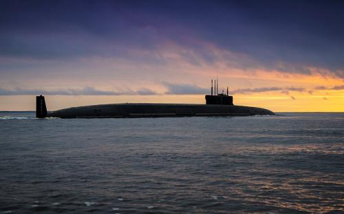 Ракетный подводный крейсер стратегического назначения «Князь Владимир»